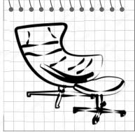 Дизайн-кресла, стулья, оттоманки