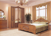 Спальня модульная КАТРИН (патина