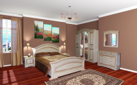 Спальня модульная НИКОЛЬ(патина)