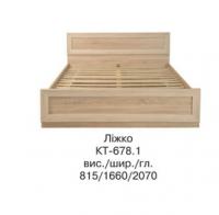 Кровать двуспальная КТ-678 КОРВЕТ