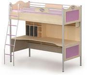 Кровать+стол детская A-16-1 серия ANGEL