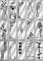 Рисунки ФЕНИКС зеркало пескоструй (пример 14)