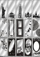 Рисунки ФЕНИКС зеркало пескоструй (пример 26)