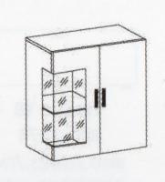 Секция мебельная МР-2856 ЕЛЬЗА